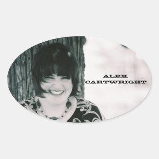 Alex Cartwright Guitar Case Sticker (4pk)