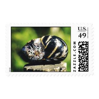 """""""Alex"""" cat rock stamp"""