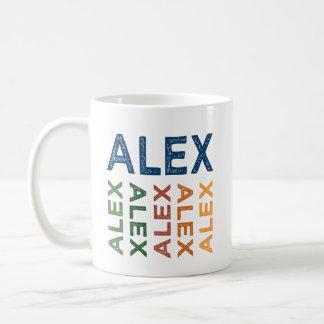 Alex Cute Colorful Coffee Mug