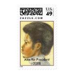Alex en la tiza para el sello del presidente - - m