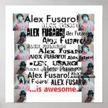 """Alex es impresionante (20"""" x20"""") posters"""