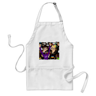 Alex & Fritz @ The Rally Adult Apron