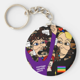 Alex & Fritz @ The Rally Keychain