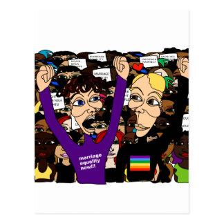 Alex & Fritz @ The Rally Postcard