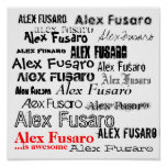 Alex Fusaro es impresionante Poster