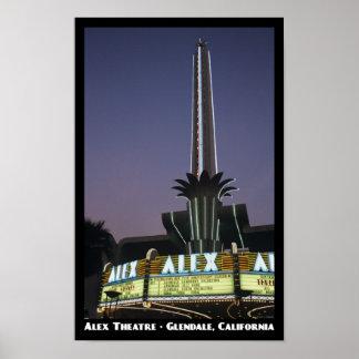 Alex, Glendale 11x17 Poster