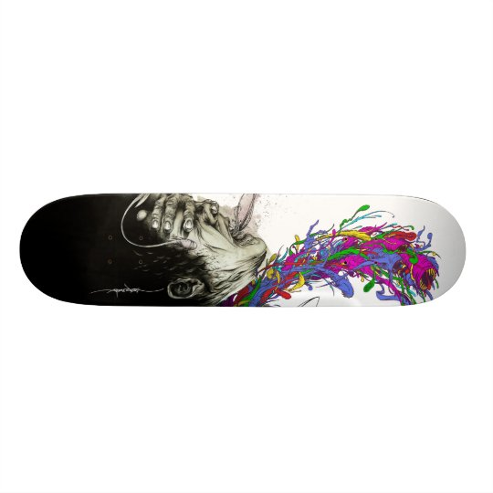 """Alex Pardee """"Escaped Convict(ion)"""" Skateboard Deck"""