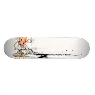 """Alex Pardee """"Geek Love"""" Custom Skate Board"""