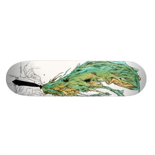 "Alex Pardee ""Migraine"" Custom Skateboard"