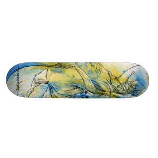 "Alex Pardee ""Riding Revenge"" Skateboard Deck"