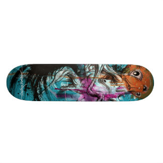 "Alex Pardee ""Stoomach Bodies"" Custom Skateboard"