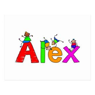 Alex Postcard