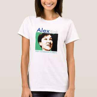 Alex Sink for Governor  T-shirt