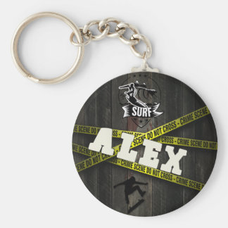ALEX - Skater Style Keychain