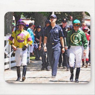 Alex Solis & Irad Ortiz Jr. - World Class Jockey Mouse Pad