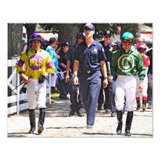 Alex Solis & Irad Ortiz Jr. - World Class Jockey Photo Print