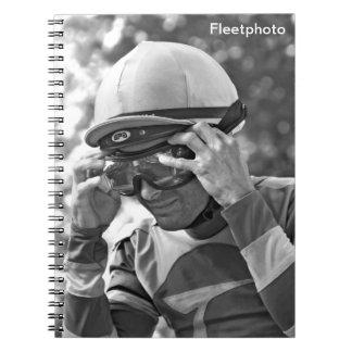 Alex Solis - World Class Jockey Spiral Notebook