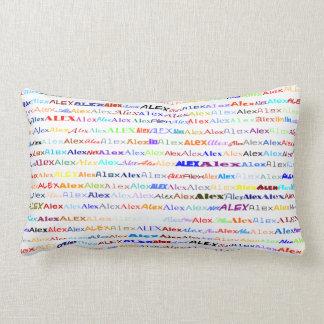 Alex Text Design II Lumbar Pillow