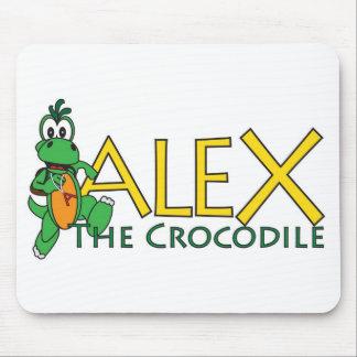 Alex the Crocodile Merchandise Mouse Pad
