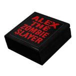 Alex The Zombie Slayer Gift Box