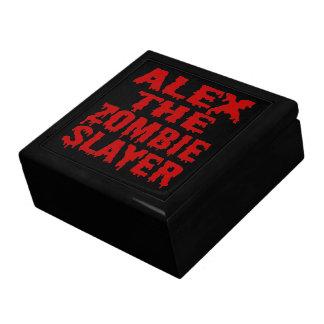 Alex The Zombie Slayer Keepsake Box