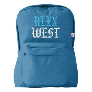 Alex West School Bag