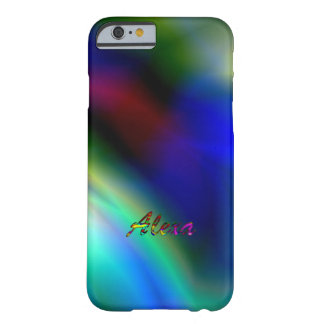 Alexa Colorfully iPhone cases Barely There iPhone 6 Case
