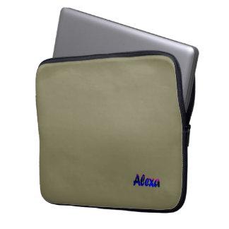 Alexa customized laptop sleeve