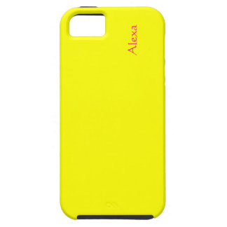 Alexa Full yellow cover for iPhone 5