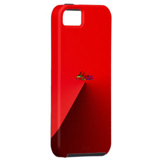 Alexa iphone 5 red case