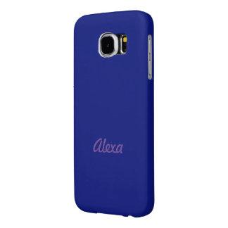 Alexa Navy Style Samsung Galaxy case