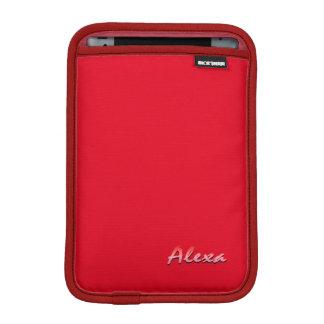 Alexa red Rickshaw iPad Mini sleeve