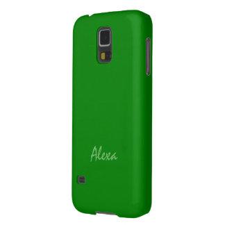 Alexa Solid Green Samsung Galaxy case