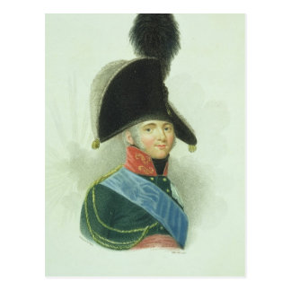 Alexander (1777-1825) the Great Emperor of all the Postcard