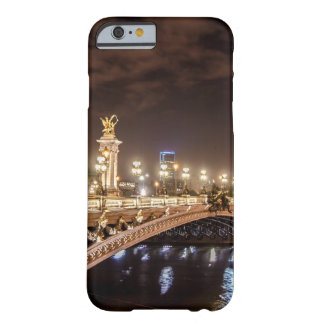Alexander 3 bridge in Paris France at night Barely There iPhone 6 Case