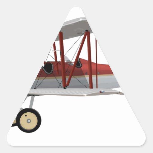 Alexander A-14 modelo Eaglerock 406406 Pegatina Triangular