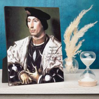 Alexander Agricola (Ackerman) Plaque