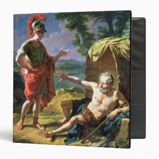 Alexander and Diogenes, 1818 (oil on canvas) 3 Ring Binder