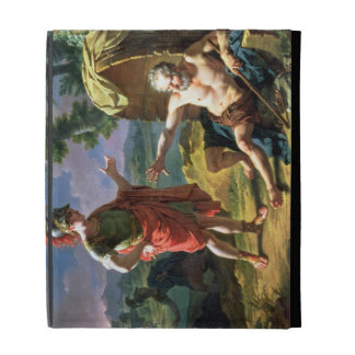 Alexander and Diogenes, 1818 (oil on canvas) iPad Folio Cover