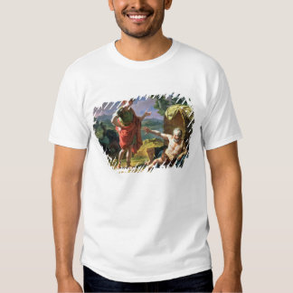 Alexander and Diogenes, 1818 (oil on canvas) Shirt