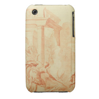 Alexander and Thais on their drunken rampage throu iPhone 3 Case-Mate Cases