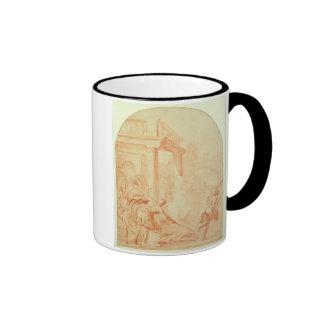 Alexander and Thais on their drunken rampage throu Coffee Mug