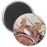 Alexander Battle  By Meister Der Alexanderschlacht 2 Inch Round Magnet
