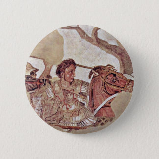 Alexander Battle  By Meister Der Alexanderschlacht Pinback Button
