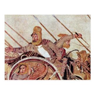 Alexander Battle  By Meister Der Alexanderschlacht Postcard