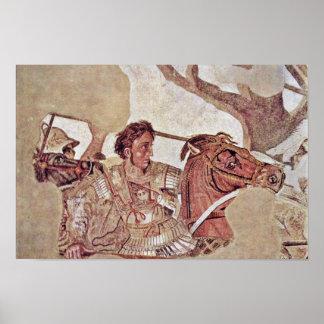 Alexander Battle  By Meister Der Alexanderschlacht Poster