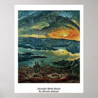 Alexander Battle Details By Albrecht Altdorfer Poster