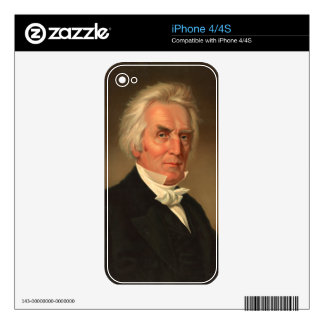 Alexander Campbell head-and-shoulders portrait Decals For iPhone 4S