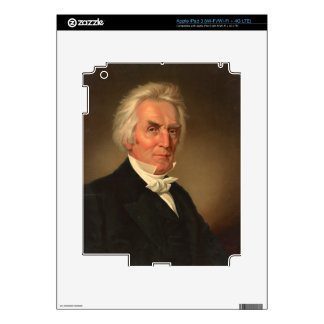 Alexander Campbell head-and-shoulders portrait iPad 3 Decal