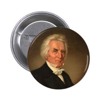 Alexander Campbell head-and-shoulders portrait Pinback Button